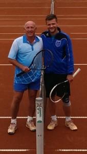Harry Viebrock (links) mit Patrick Fanger
