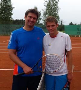 Matthias Barhainski (links) mit Daniel Blank